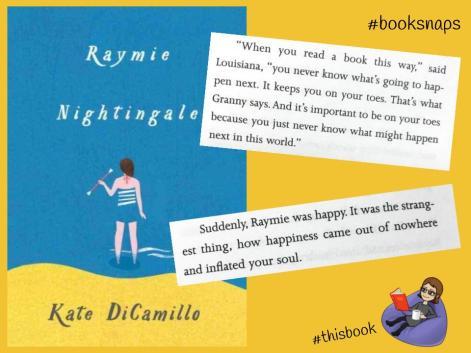 Raymie Nightengale #booksnap