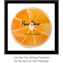 Join the Two Writing Teachersfor the Slice of Life Challenge